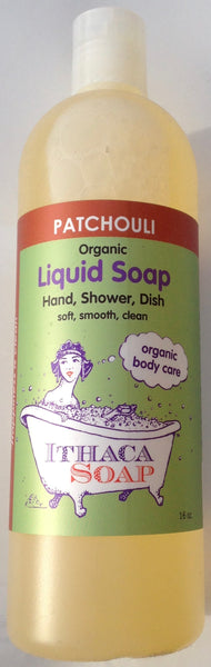 Organic Liquid Soap Patchouli