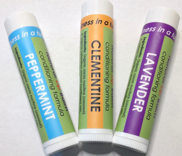 LiXTiK Natural Lip Balm 3 Pack