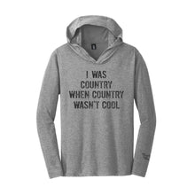 Load image into Gallery viewer, I Was Country Long Sleeve Unisex T-Shirt