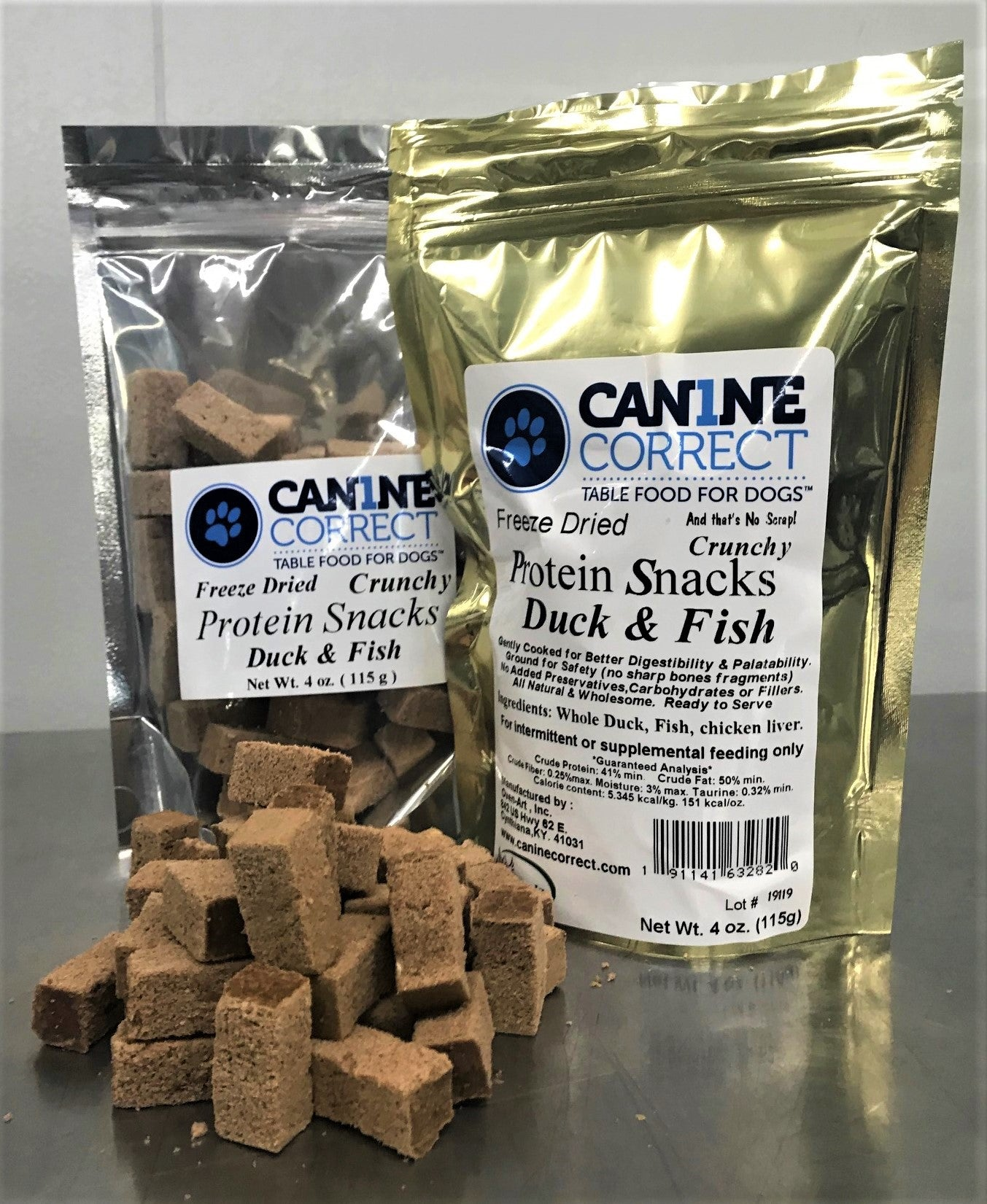 Canine Correct Protein Snacks