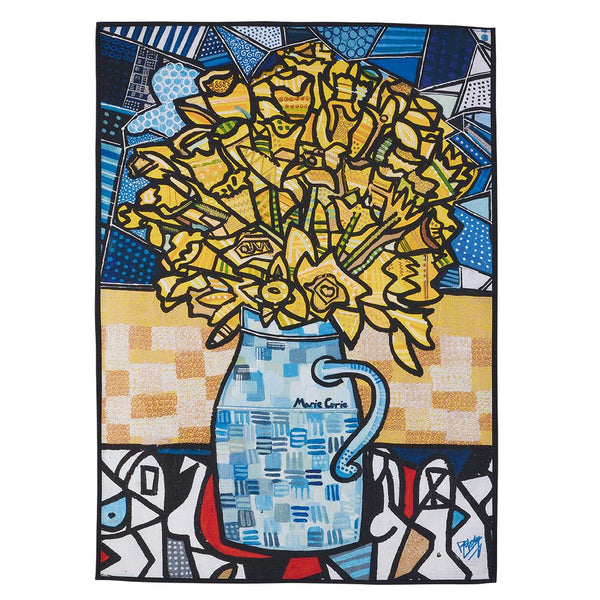 Daffodils Tea Towel designed by Ben Mosley