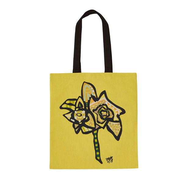 Daffodil Tote Bag designed by Ben Mosley