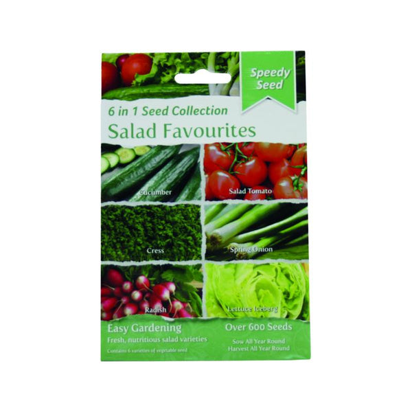 6 in1 Salad Favourites Seed Pack