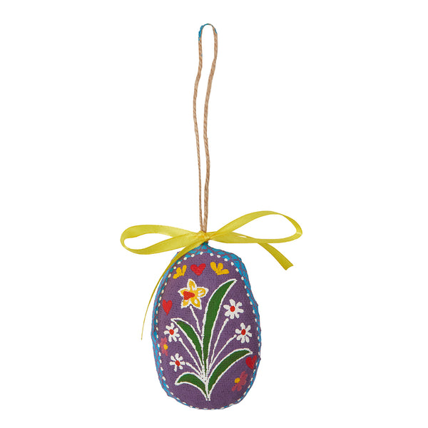 Spring Flower and heart Easter Decoration