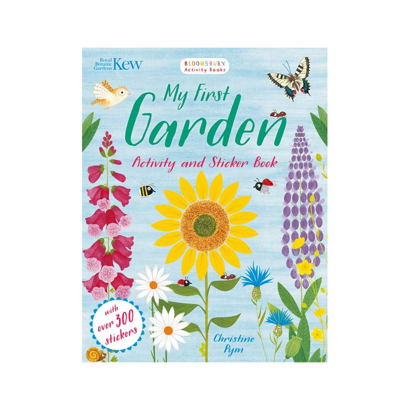 My first garden activity and sticker book