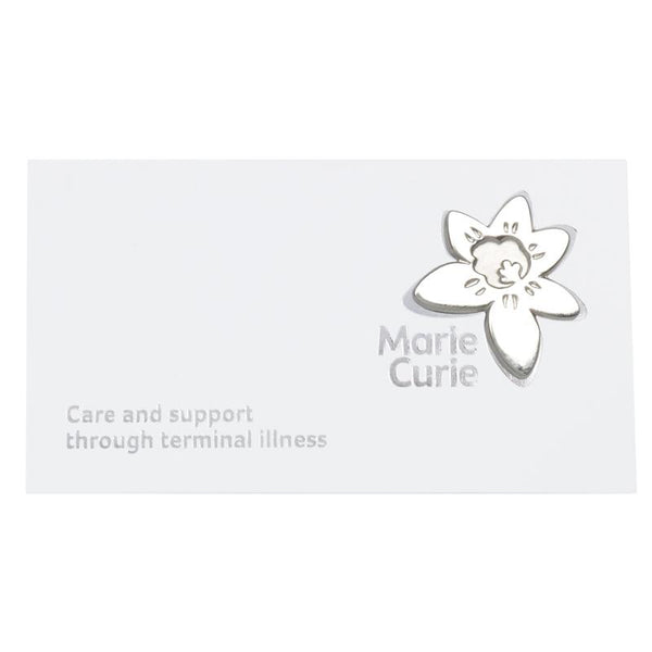 Marie Curie Silver Pin Wedding Favours (pack of 10)