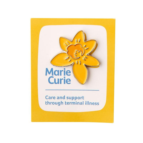 Marie Curie Daffodil Pin Badge