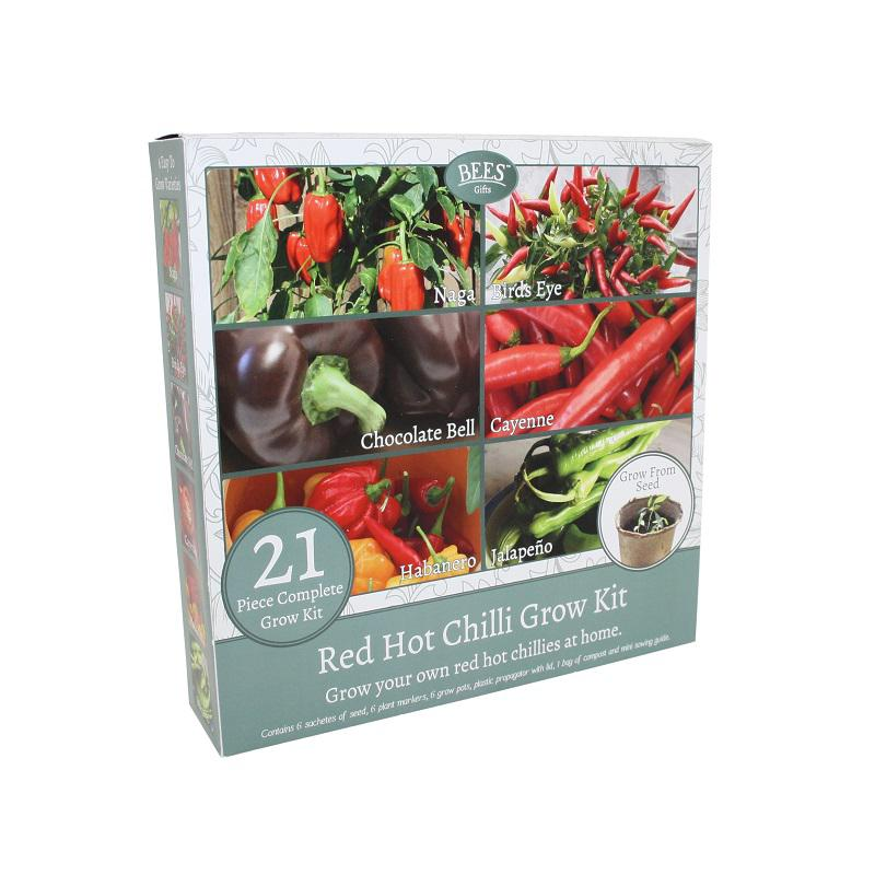 Red Hot Chilli Grow your own Kit