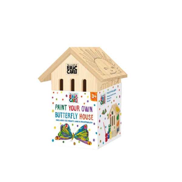 The Very Hungry Caterpillar Paint your own Butterfly House