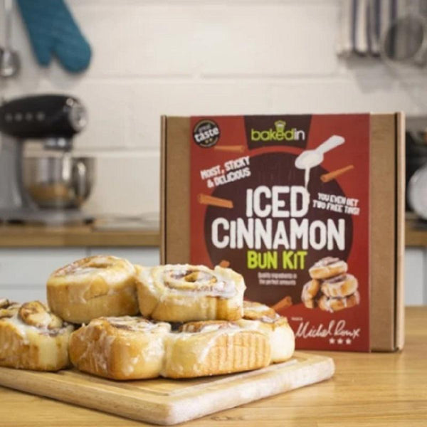 Bakedin Iced Cinnamon Bun Kit