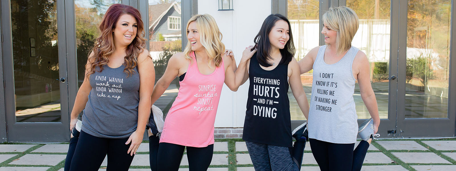 Mary Square Tank Tops