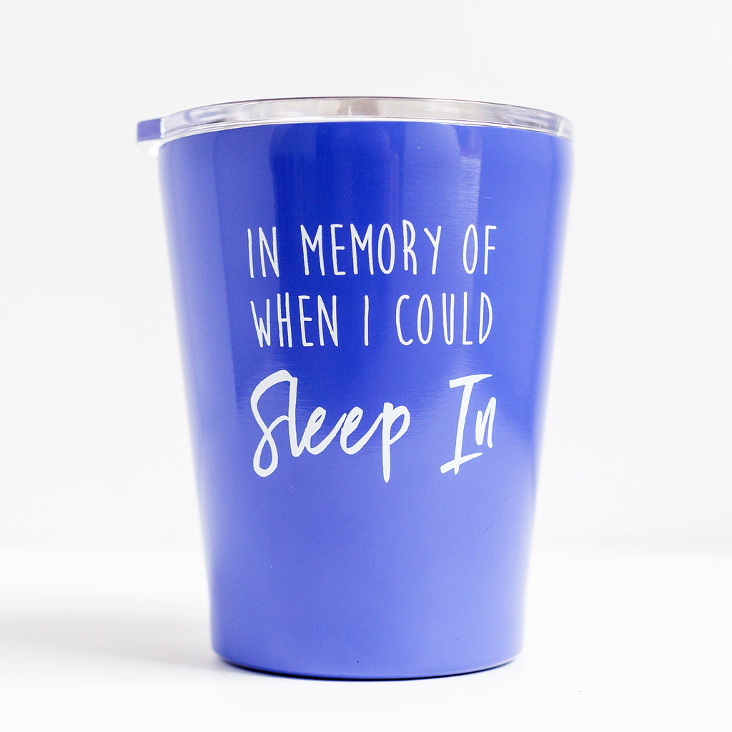 Stainless Coffee Tumbler In Memory