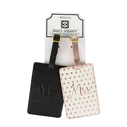 Luggage Tag- Set Mr & Mrs.