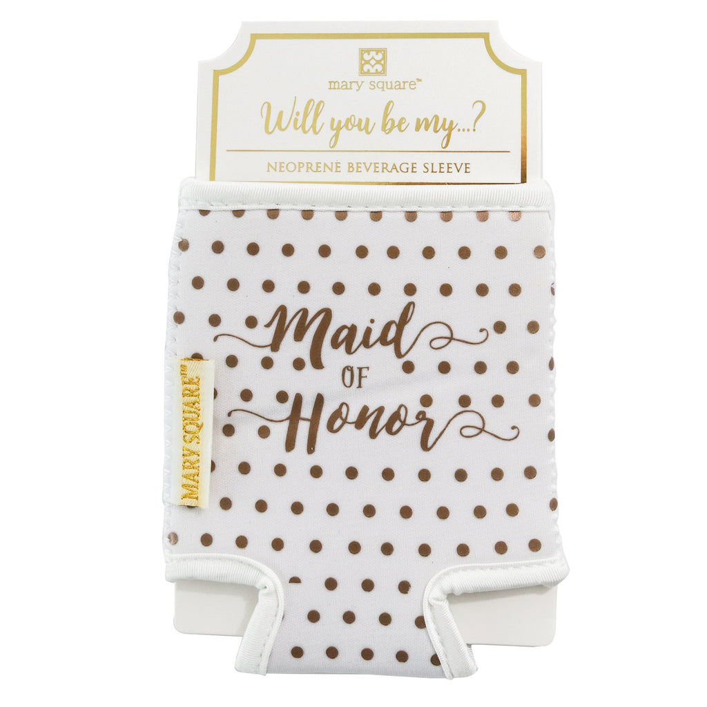Beverage Sleeve Maid of Honor