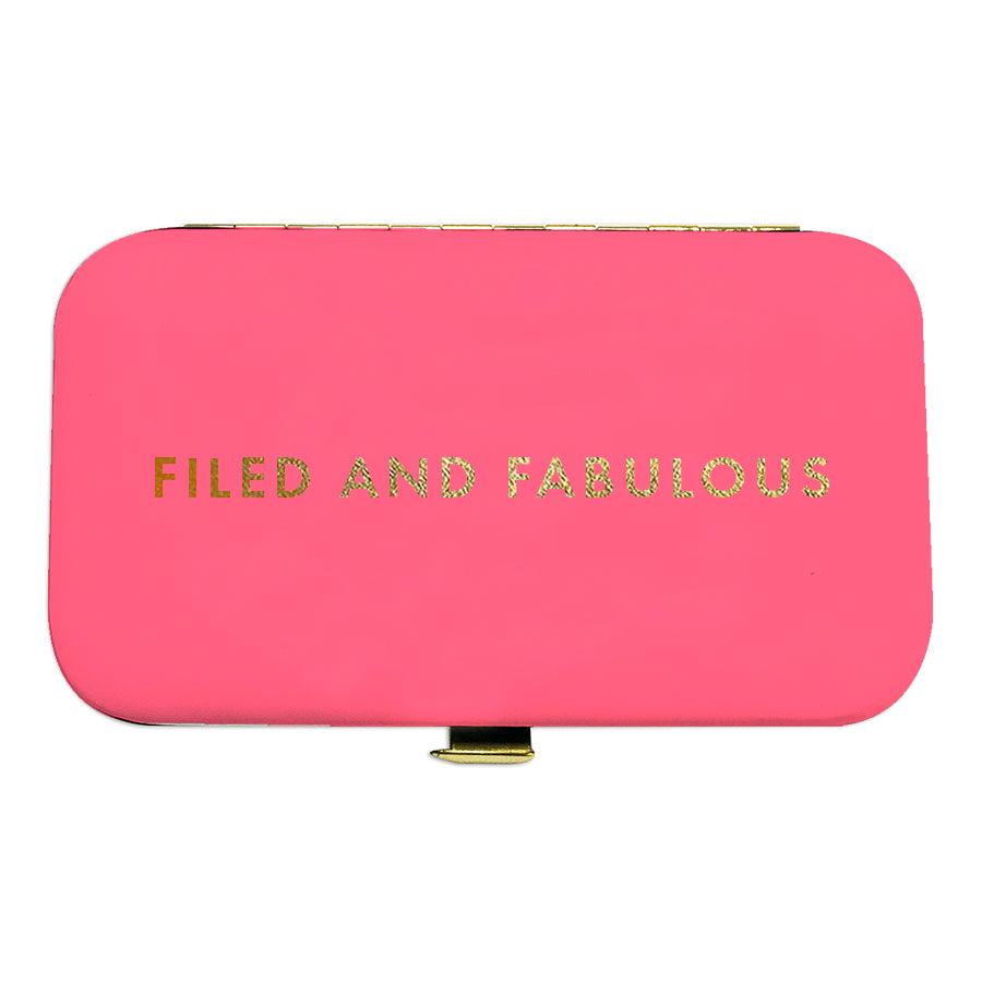 Manicure Set Filed & Fabulous