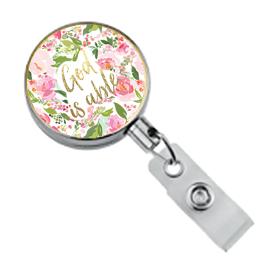 Badge Reel Charlotte
