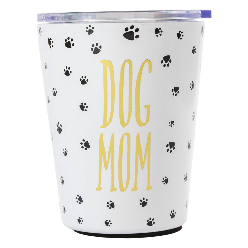 Stainless Coffee Tumbler Dog Mom