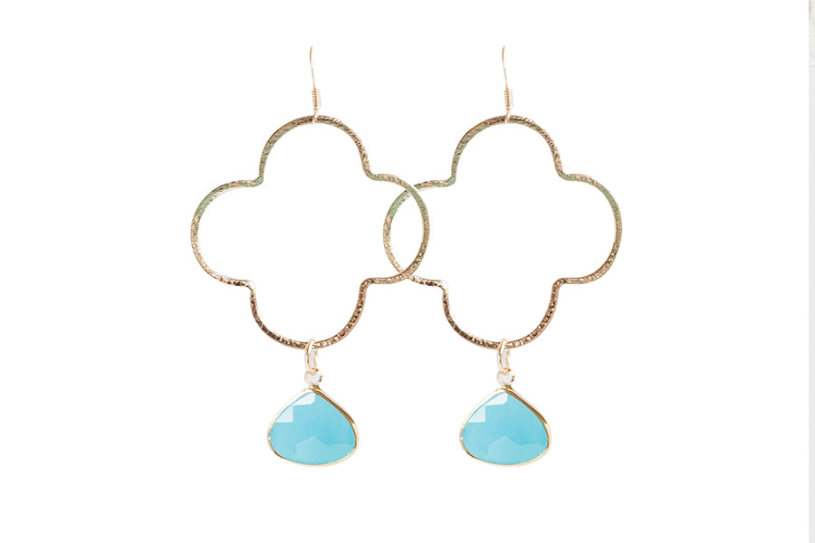 Catalina Charm Earrings | Gold