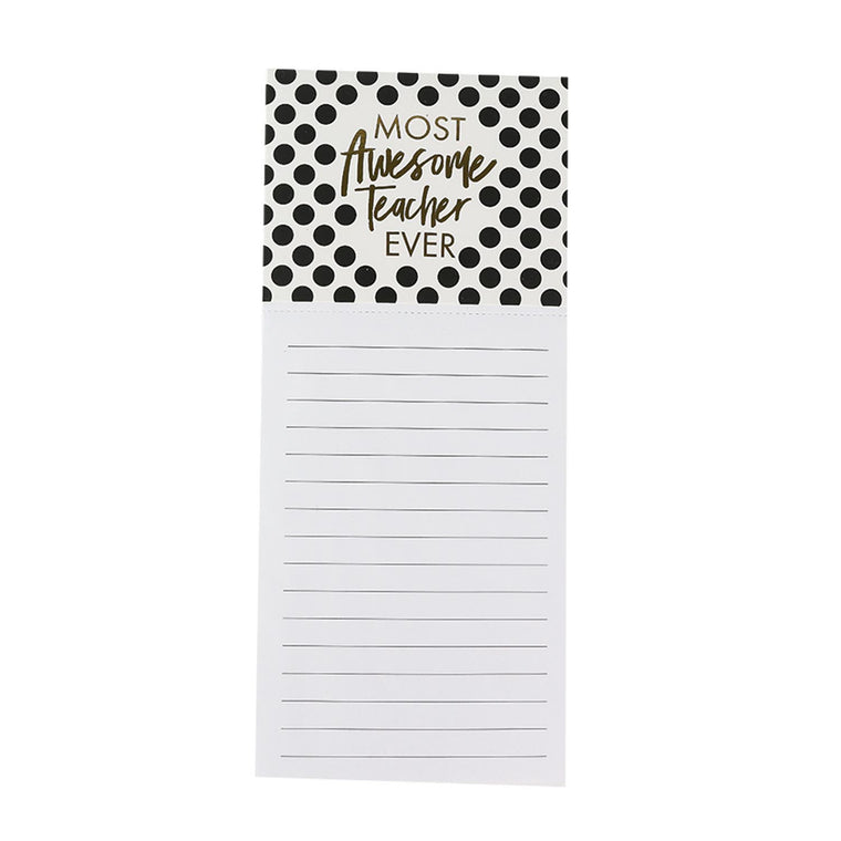 Magnetic Notepad Awesome Teacher