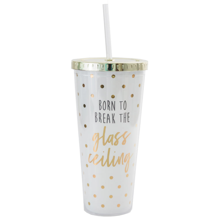 Straw Tumbler Glass Ceiling