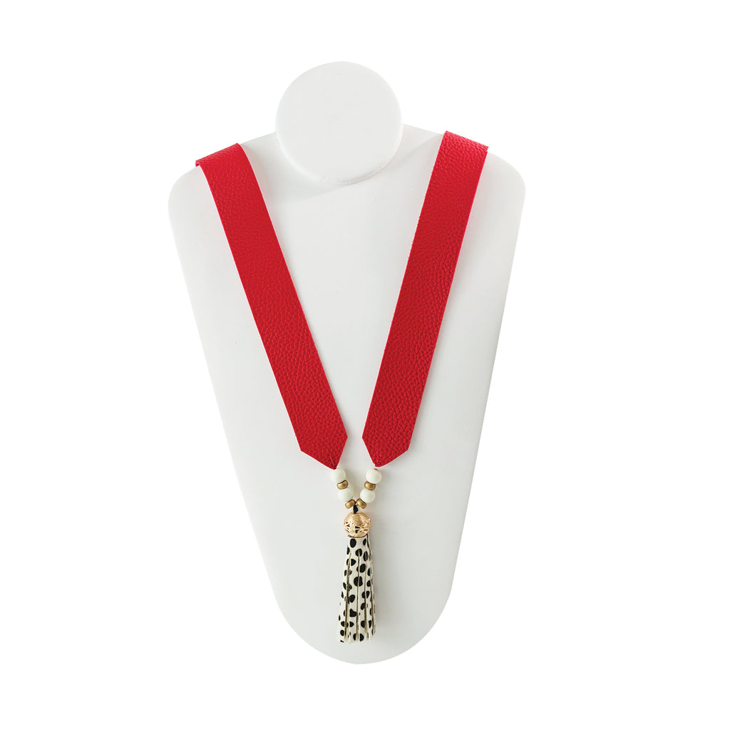Montego Leather Necklace