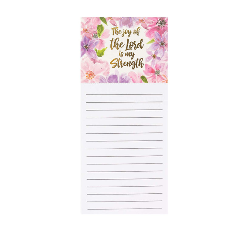 Magnetic Notepad Joy of the Lord
