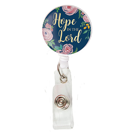 Badge Reel Hope in the Lord