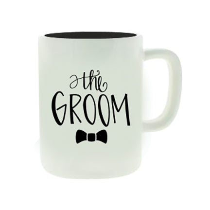 Ceramic Mug Organic The Groom
