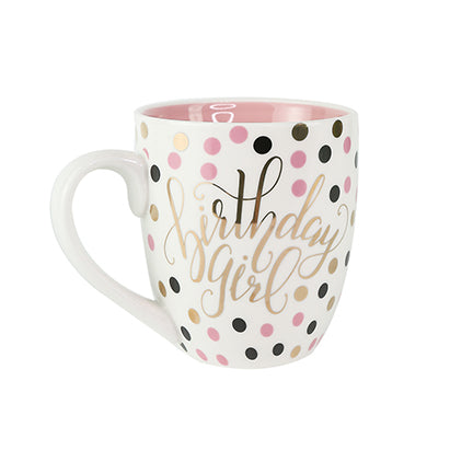 Ceramic Mug Birthday Girl