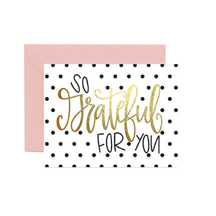 Greeting Cards | So Grateful for You