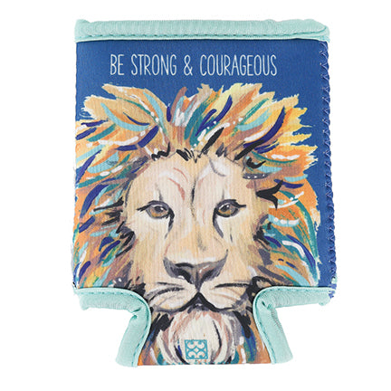 Wildly Inspired | Beverage Sleeve | Strong & Courageous