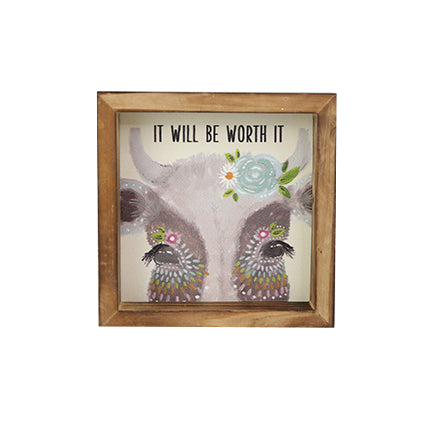 Wood Plaque | It Will Be Worth It