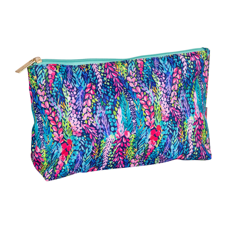 Travel Pouch | Wisteria Waves