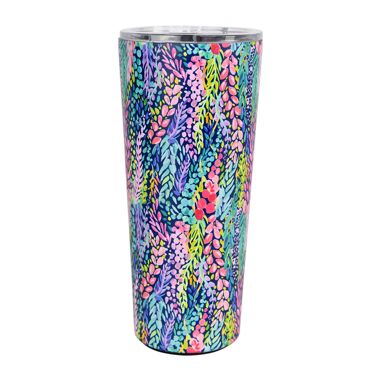 Stainless Large Bottle | Wisteria Waves