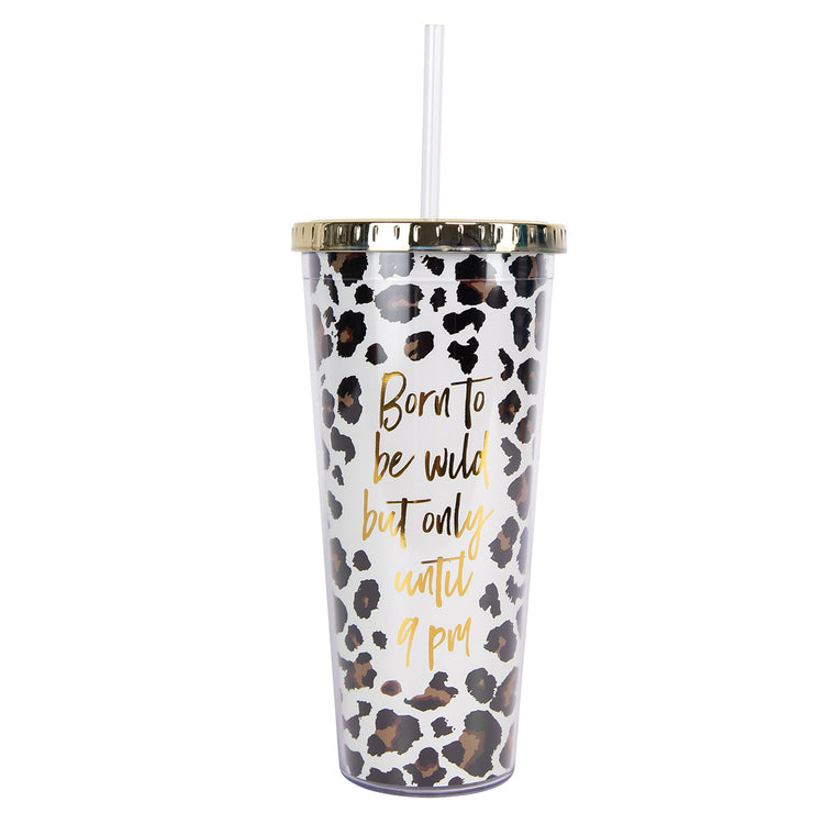 Straw Tumbler | Born to be Wild