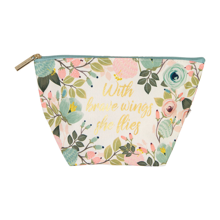 Mini Carryall Peach Floral