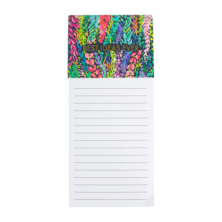 Magnetic Notepad | Wisteria Waves