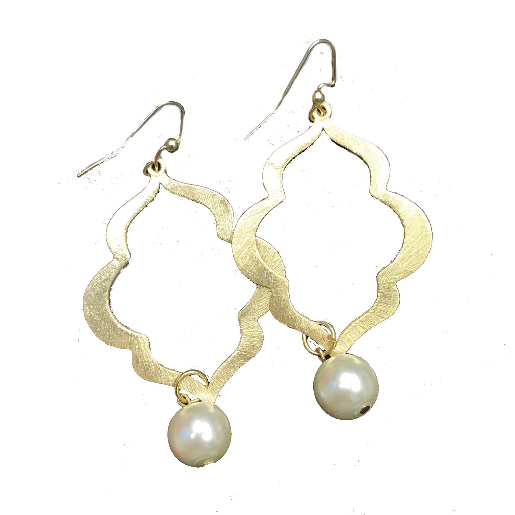 Charleston Pearl Earrings
