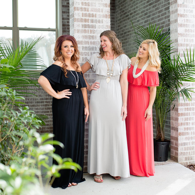 Ruffle Maxi Dress | Summer Apparel