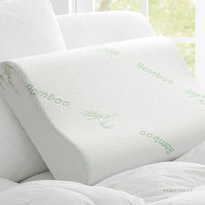 The Best Bamboo Memory Foam Pillow Cosydozy