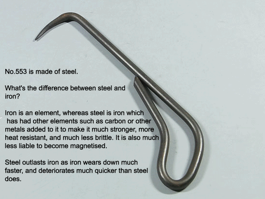 Root Hook (1 Prong)