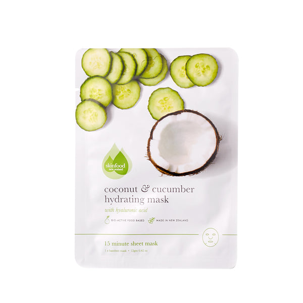 Coconut & Cucumber Hydrating Sheet Mask