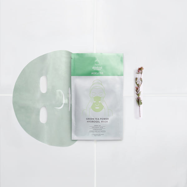 AGELESS Green Tea Power Hydrogel Mask