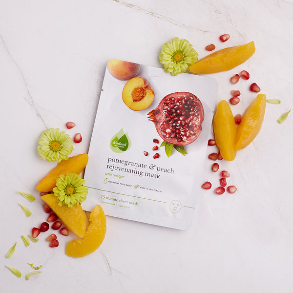 Pomegranate & Peach Rejuvenating Sheet Mask