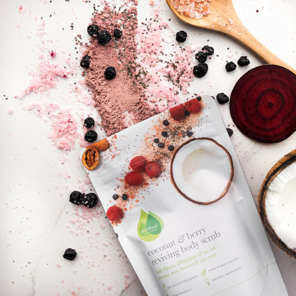Coconut & Berry Reviving Body Scrub