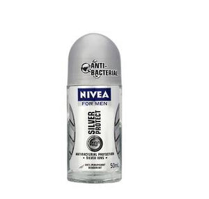 NIVEA FOR MEN SILVER PROTECT ROLLON DEODORANT 50ML