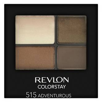 REVLON COLORSTAY EYESHADOW QUAD IN ADVENTUROUS 515
