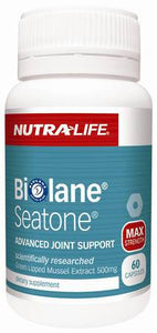 NUTRALIFE SEATONE JOINT HEALTH SUPPORT 60 CAPSULES