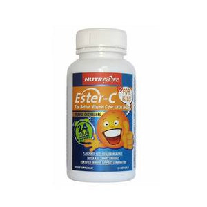 NUTRA-LIFE ESTER-C FOR KIDS CHEWABLE 120 TABLETS