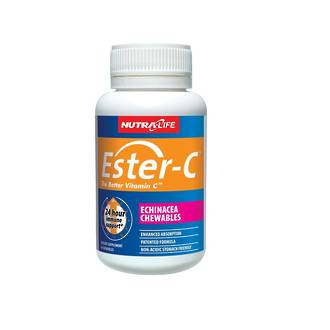 NUTRA-LIFE ESTER-C 500MG ECHINACEA 60 TABLETS